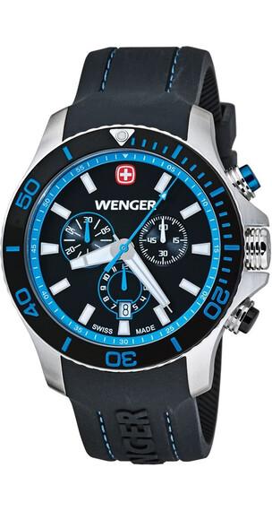 Wenger Sea Force Chrono Svart/Blå (01.643.103)